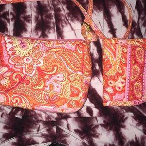 Vera Bradley purse with wallets